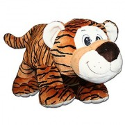 Anico Collectible Plush Toy Laying Down Stuffed Animal Tiger 13 Inches Tall