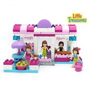 Little Treasures Bakery Shop - 102 building block pieces toy set with Duplo compatibility for 3+ kids