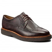 Обувки CLARKS - Modur Limit 261282577 Burgundy Leather