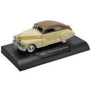 1948 Chevy Aerosedan Fleetline , Beige Signature Models 32437 1/32 Scale Diecast Model Toy Car