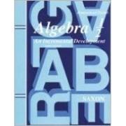 Algebra 1/2: an Incremental Development Homeschool by John Saxon