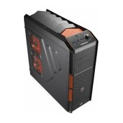 Gabinete Aerocool XPredator X1 Evil Black Edition, Midi-Tower, ATX/micro-ATX, 2x USB 3.0, sin Fuente