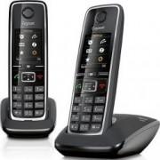 Telefon DECT Gigaset C530 Duo Negru