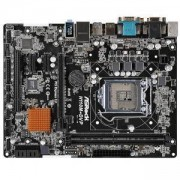 Дънна платка ASROCK Main Board Desktop H110 micro ATX retail, H110M-DVP_3Y