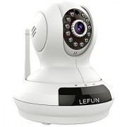 LeFun Wireless Camera Baby Monitor WiFi ip Surveillance Camera HD 720P Nanny Cam Video Recording with Pan Tilt Remote Motion Detect Two Way Audio and Night Vision