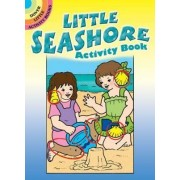 The Little Seashore Activity Book by Anna Pomaska