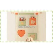 Baby Expert Italia - Poster mural CUORE crem-orange