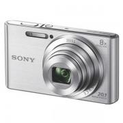 Fotoaparat silver DSCW830S + futrola+ SF8C4 memorijska kartica SONY