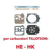 kit membrane e guarnizioni TILLOTSON DG-1-HK