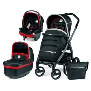 Peg Perego Carucior 3 in 1 Book Plus S Black Pop-Up Synergy