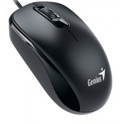 Genius Wired Optical Mouse, Black (DX-110Black)