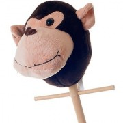 Happy Trails Rocking Maggie The Stick Monkey Plush