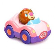Bright Starts Having a Ball Press & Zoom Pals - Pink Roadster