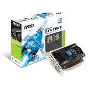MSI N750Ti-2GD5/OCV1 GeForce GTX 750 Ti 2GB GDDR5