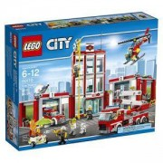 Конструктор ЛЕГО СИТИ-ПОЖАРНА КОМАНДА, LEGO City Fire Station, 60110