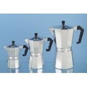 Nova cAFFETERIA mOKYTA cafetière à expresso 6 tasses en aluminium