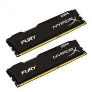 2x4GB DDR4 PC21300 2666MHz Kingston HyperX Fury Black KIT HX426C15FBK2/8 (8GB)