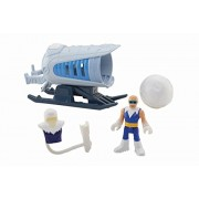 Fisher-Price Imaginext DC Super Friends Captain Cold and Ice Cannon Action Figure by Fisher-Price