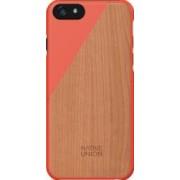 Skin Native Union Luxury Clic Apple iPhone 6 Lemn de cires Coral