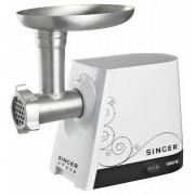 Masina de tocat carne cu accesoriu pentru suc de rosii Singer SMG-1800, 1800 Wati, palnii inox