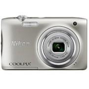Aparat Foto Digital NIKON COOLPIX A100, Filmare HD, 20.1 MP, Zoom optic 5x (Argintiu)