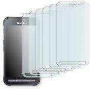 6x Golebo Crystal Protection D'écran Pour Samsung Galaxy Xcover 3 (Sm-G388f)