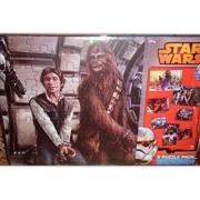 Star Wars Disney 8 Puzzle Pack including 2 large floor puzzles