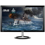 "Monitor Gaming LED ASUS 23"" VX238H, Full HD (1920 x 1080), HDMI, VGA, 1 ms, Low Blue Light, Flicker Free (Negru)"