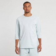 Reigning Champ Scalloped 3/4 Sleeve Tee