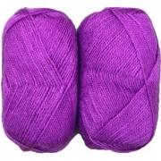 Rose Wool Purple 400 Gm (4Pc) Sh.008