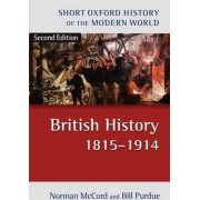 British History 1815-1914 by Norman McCord