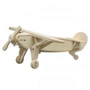 Puzzle eco 3D din lemn Avion Sport Pebaro