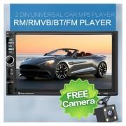 """Eh 7060B 7 """"el Bluetooth de auto reproductor mp5 Video (Con la Cámara)-Negro"""
