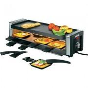 Raclette grillsütő szabályozható hőmérsékletű 8 sütőtálcával Unold 48765 (708090)