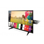 "LG 43LH590V LED TV 43"" Full HD, WebOS 3.0 SMART, T2, Metal/Black, Two pole stand"