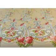 Textilhatású lemosható terítő virágos/Cikksz:0221060