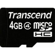 Card de Memorie Transcend microSDHC 4GB Class4