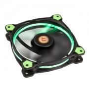 Ventilator 120 mm Thermaltake Riing 12 High Static Pressure Green LED Radiator Fan