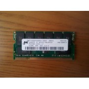 Micron - Mémoire - 512 Mo - DDR - PC2700 - 333 Mhz - SO DIMM 200 broches