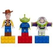 Regotoi Story Magnet Set [Woody, Buzz Lightyear, alien] / LEGO Toy Story Magnet Set: Woody, Buzz Lightyear and Little Green Alien 852949 [domestic distribution regular article] (japan import)