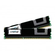 8 Go (2 x 4 Go) DDR3 1600 MHz CL11 ECC Registered DR, Kit Dual Channel RAM DDR3 PC12800 CT2KIT51272BB160B par Crucial)