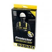 Save Lives Now, Protector, LED Reflex Vest - Large