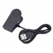 ER Negro 1m cable USB Clip de carga para Suunto Ambit AMBIT2 AMBIT3 reloj (Negro).
