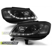 Přední světla, lampy Opel Zafira 99-05 Day light černé