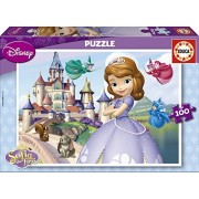 Educa - 15928 - Puzzle Classique - Princesse Sofia - 100 Pièces