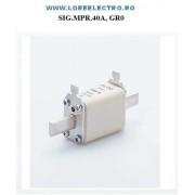 SIGURANTA FUZIBILA MPR 40A, GR 0 gL-gG 500V