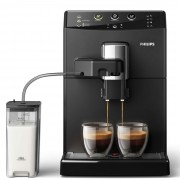 Автоматична еспресо машина, Philips 3000 series Easy Cappuccino, Black (HD8829/09)