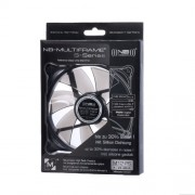 Noiseblocker Multiframe S M12-PS PWM Ventole per Case, Nero