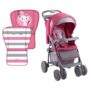 Детска количка LORELLI FOXY - Pink Kitten 10020041612