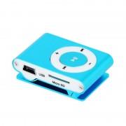 Mini Leitor MP3 Setty com Auscultadores - Azul
